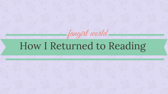 Returning to reading (1)
